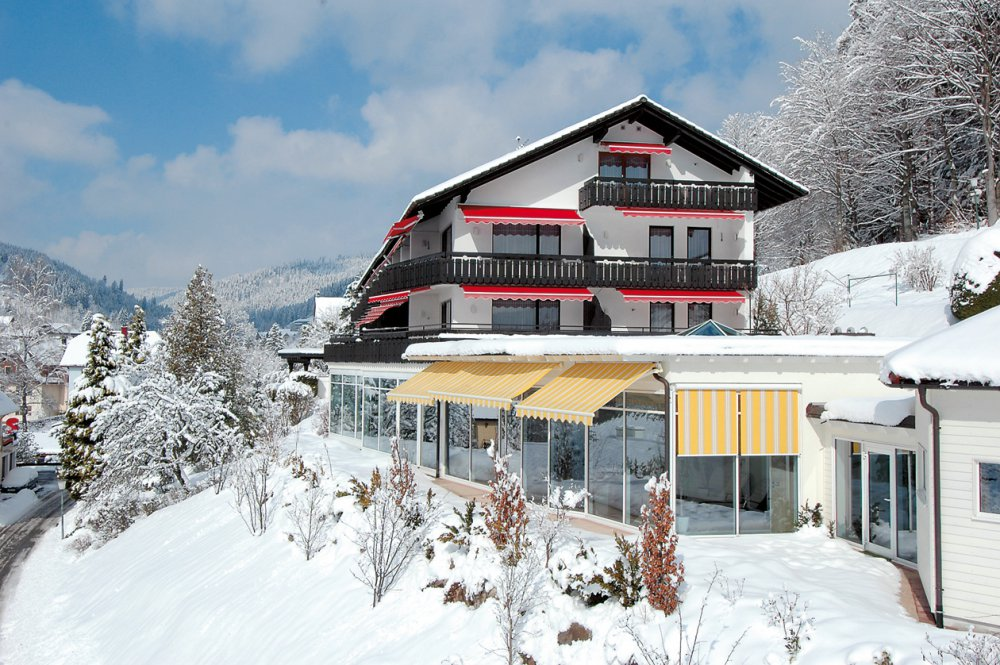 Hotel Waldlust im Winter